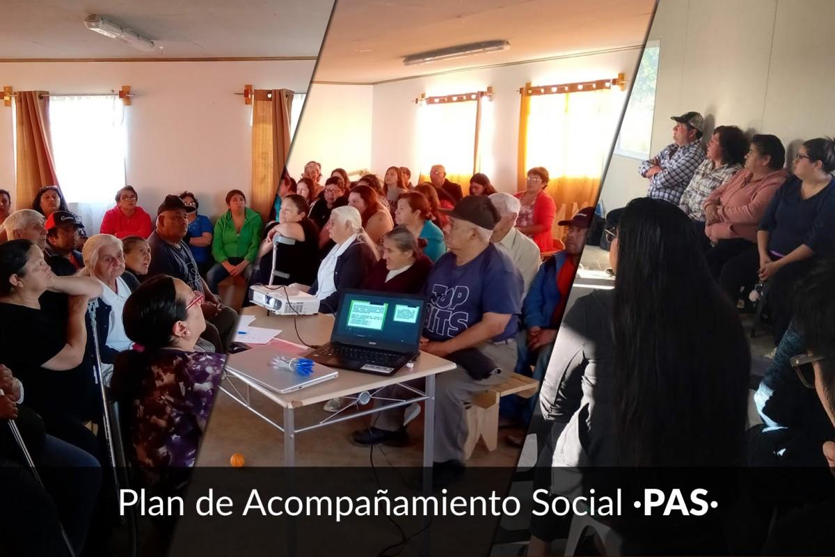 Actividades Plan de Acompañamiento Social [PAS] 2018